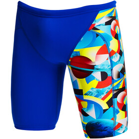 Funky Trunks Training Jammers Boys, azul/Multicolor